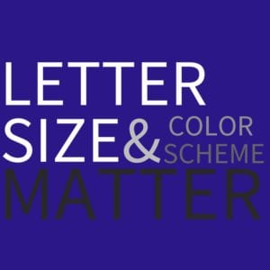 Letter Size is a Big Deal
