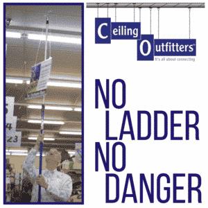 NO ladder no danger