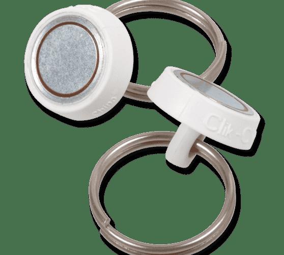 Round Red ClikMagnet (10/Bag)