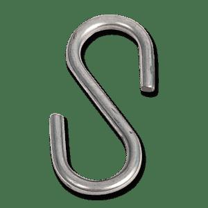 Metal S-Hook for Hanging